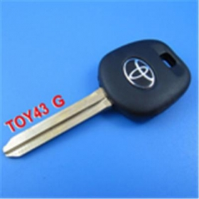 2010-2011 Toyota G Chip Transponder Key with Metal