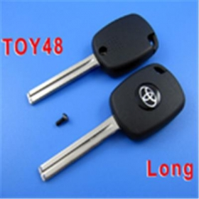 Toyota 4C Duplicable Key Toy48 (Long) with Groove