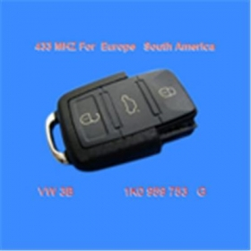 VW 3B Remote 1 JO 959 753 G 434Mhz for Europe South America VW 3