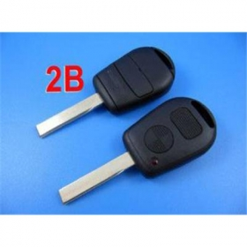 BMW remote key shell 2 button with cupronickel key
