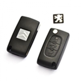 Peugeot Remote Key 3 Button Mh 433