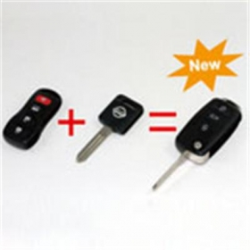 Nissan Remote Key (3 +1) 4 Button(Chip Not Include)