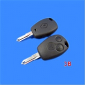 Renault Remote Key Shell 3 Button
