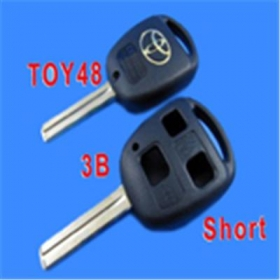 Toyota Remote Key Shell 3 Button Toy48 (Short)