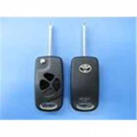 Toyota 3-button Flip Remote Key Cover