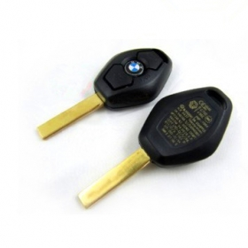 Bmw key shell 3 button 2 track (back side with the words 433.92M