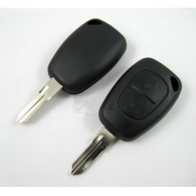 renault remote key shell 2 button