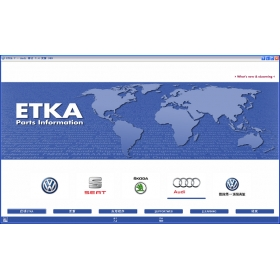 2013 ETKA 7.4 for VAG Audi Vw Skoda Seat EPC