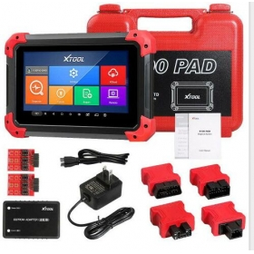 XTOOL X100 PAD X-100 Auto Car Key Programmer with Built-in VCI S